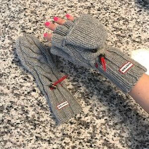 Grey Hunter Fingerless gloves/mittens